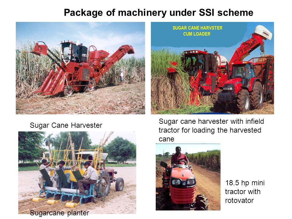 Package of machinery under SSI scheme