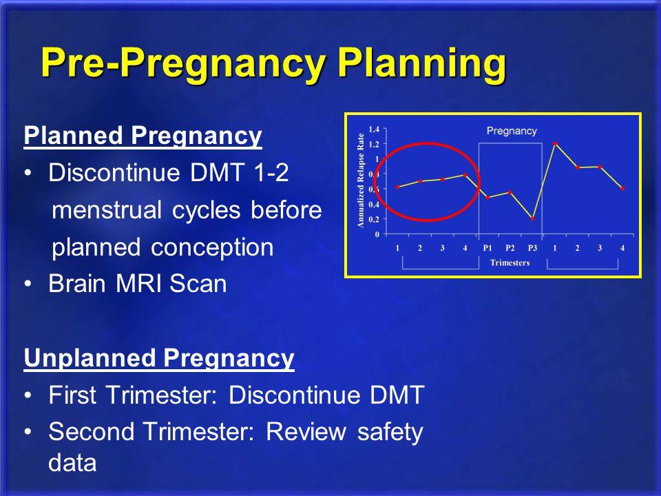 Pre-Pregnancy Planning