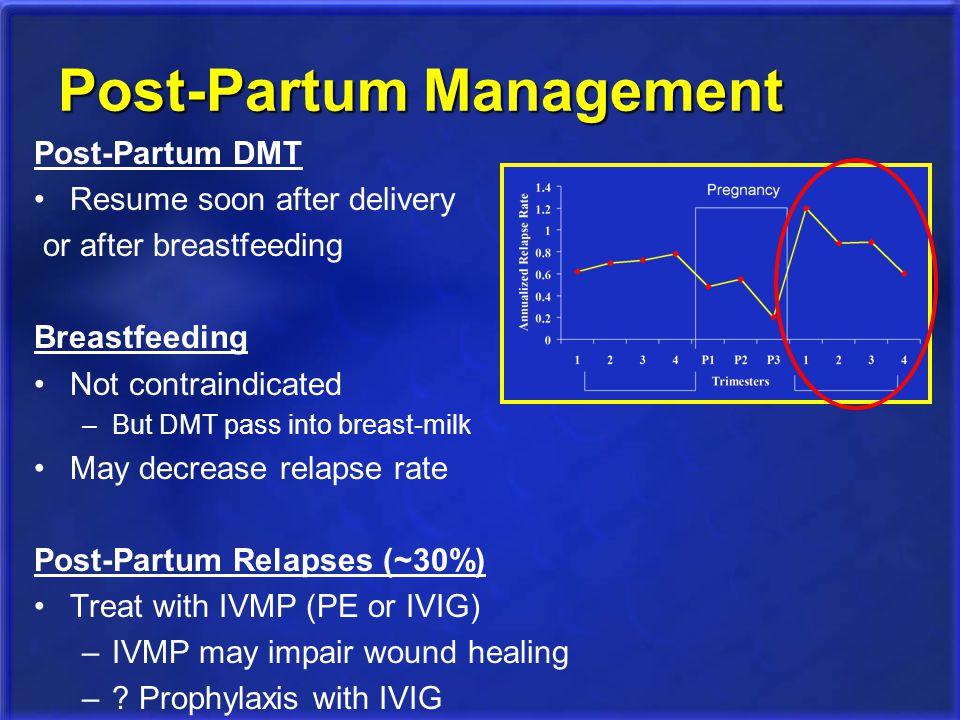 Post-Partum Management