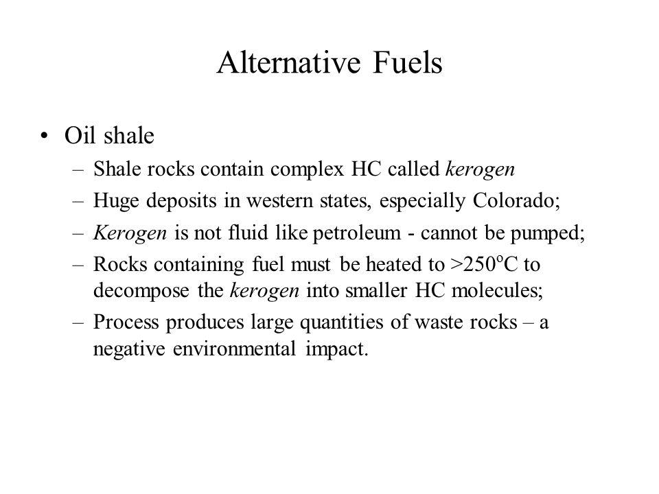 Alternative Fuels Oil shale