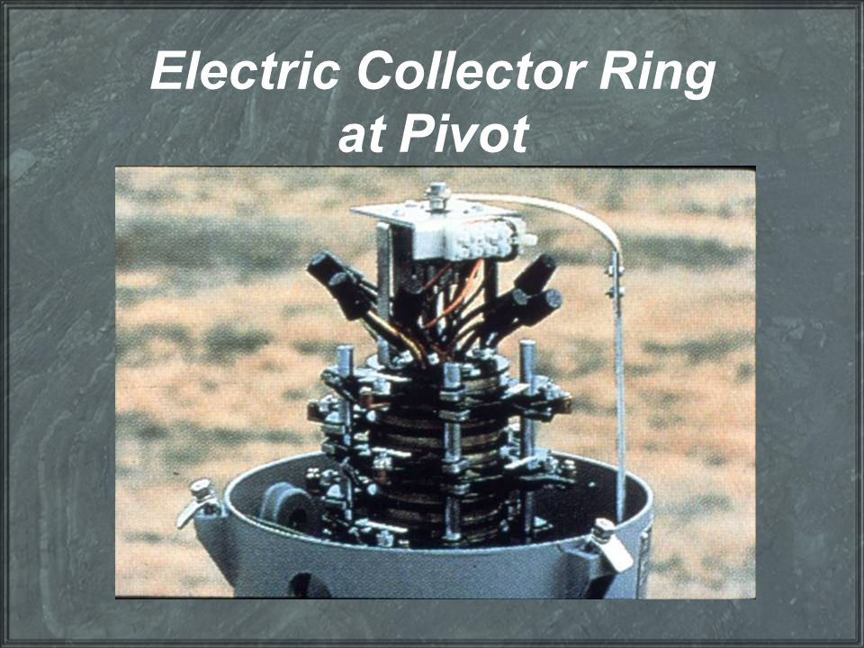 Electric Collector Ring at Pivot