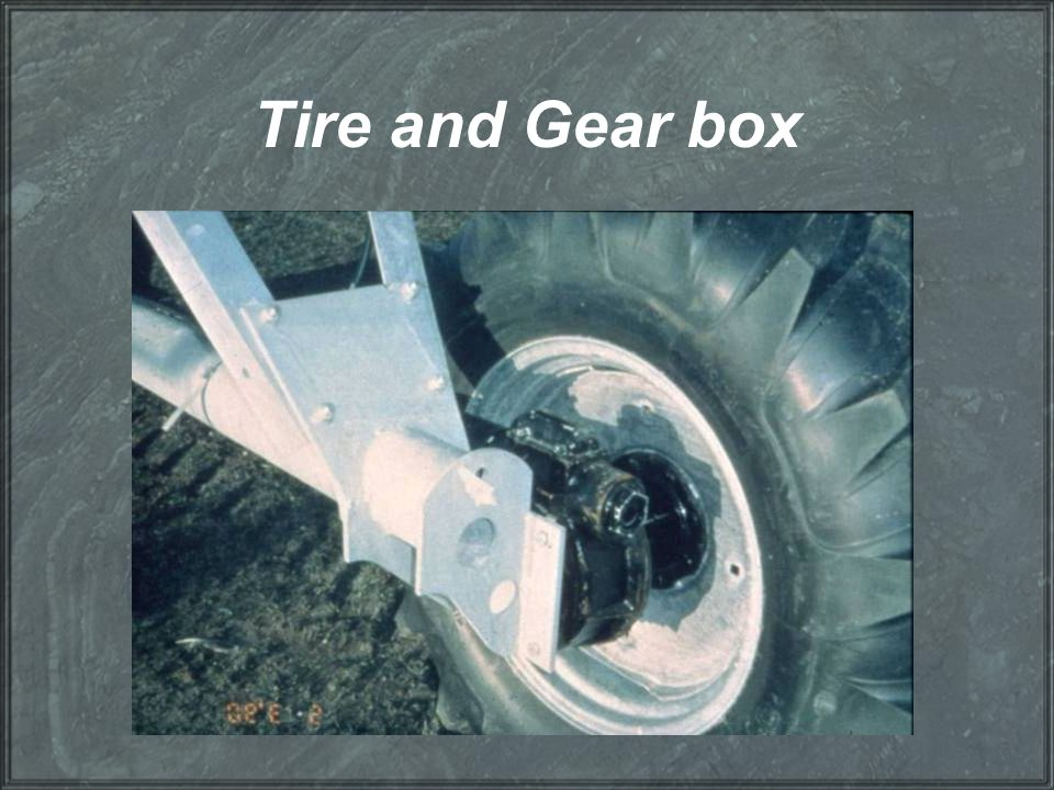 Tire and Gear box