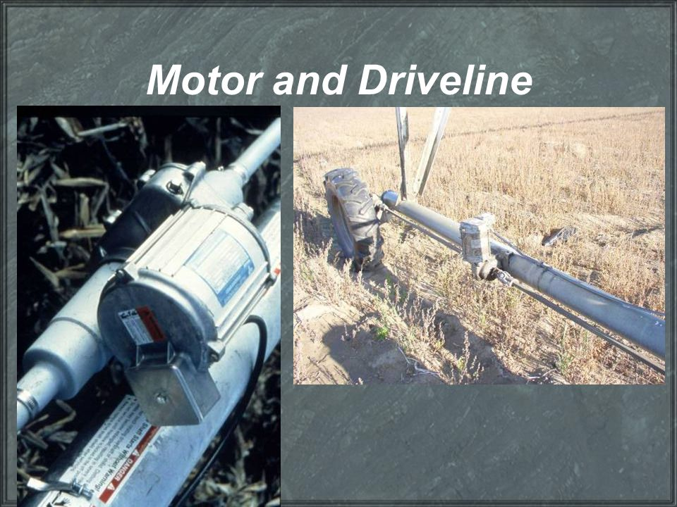 Motor and Driveline