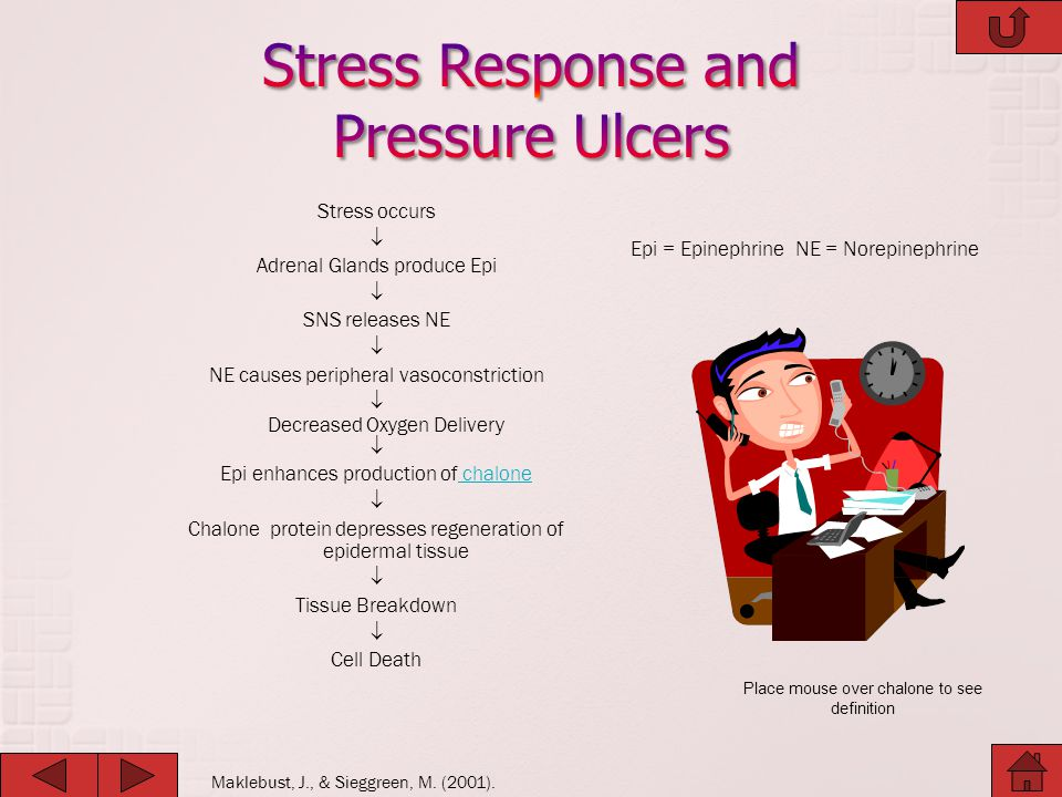 Stress Response and Pressure Ulcers