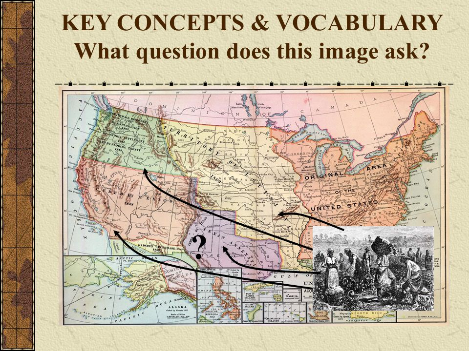 KEY CONCEPTS & VOCABULARY What question does this image ask