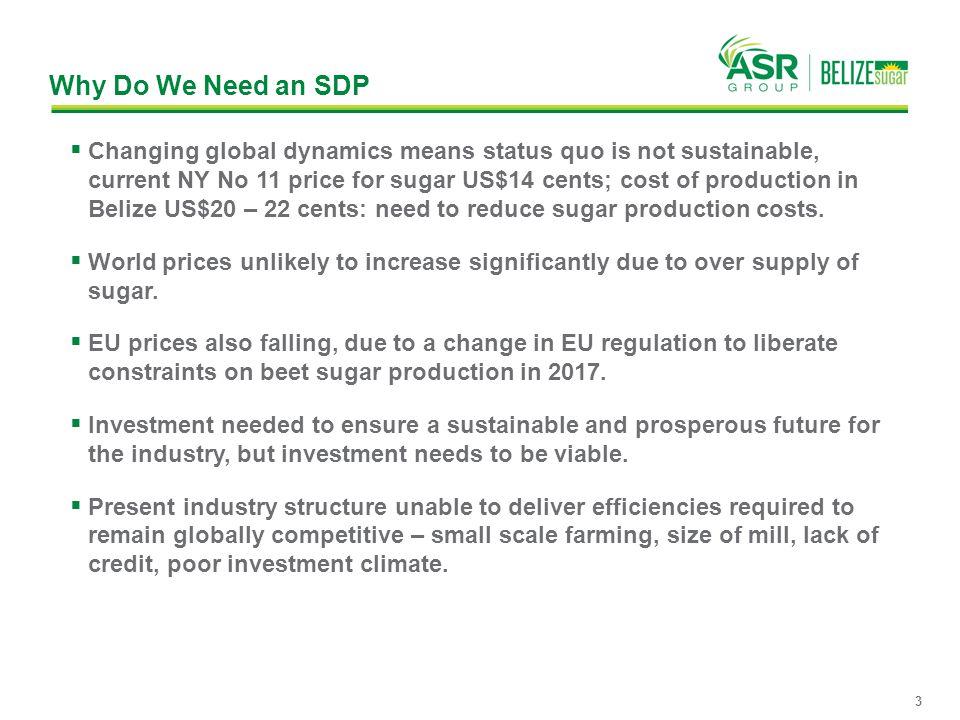 Why Do We Need an SDP