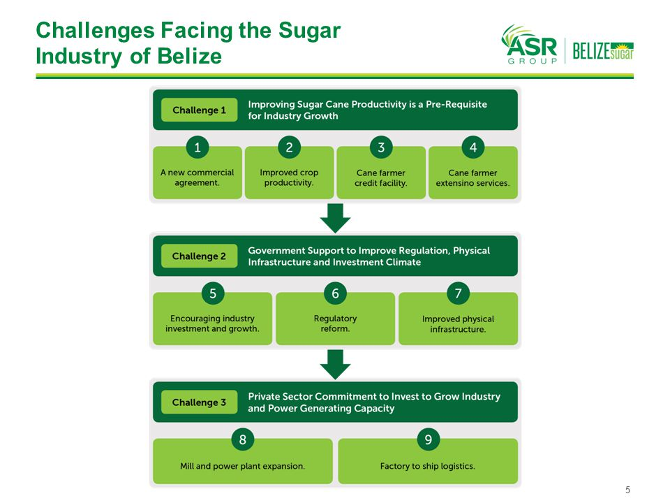 Challenges Facing the Sugar Industry of Belize