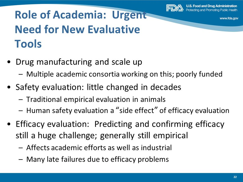 Role of Academia: Urgent Need for New Evaluative Tools