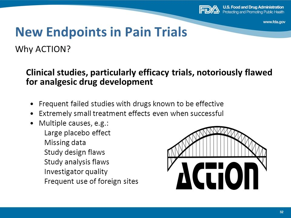 New Endpoints in Pain Trials