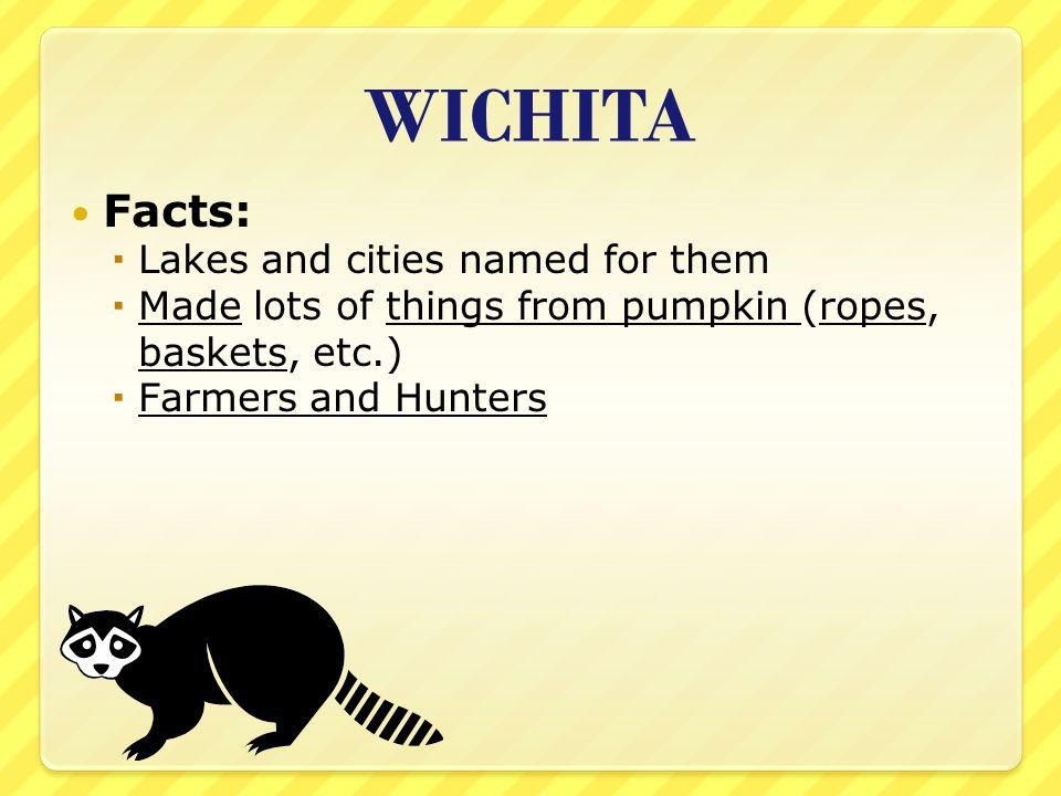 WICHITA Facts: Lakes and cities named for them