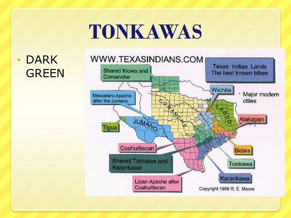 TONKAWAS DARK GREEN