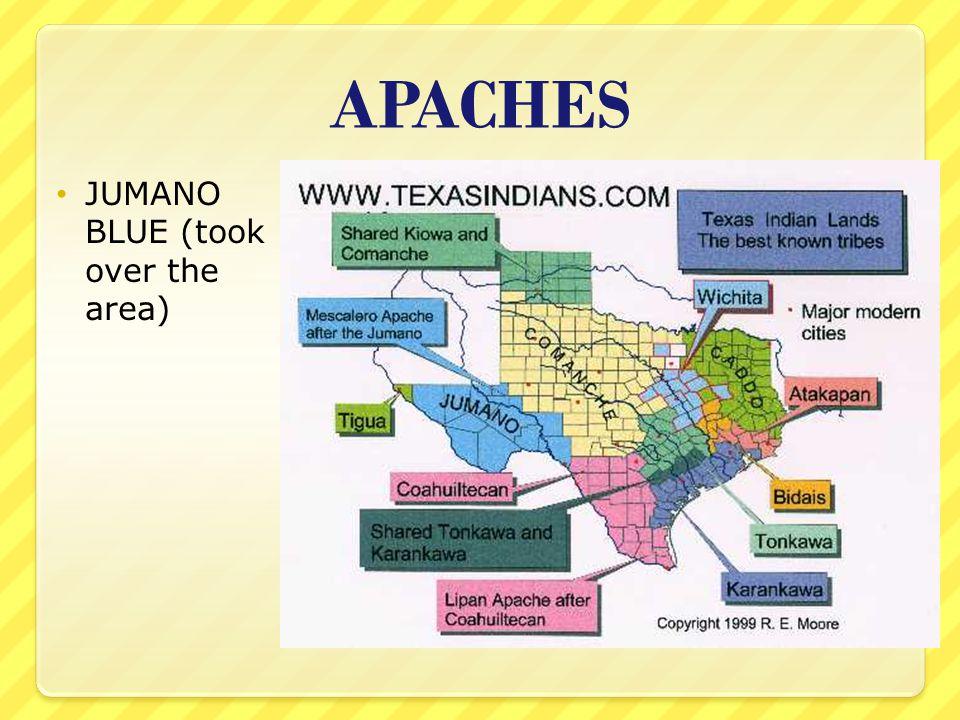 APACHES JUMANO BLUE (took over the area)