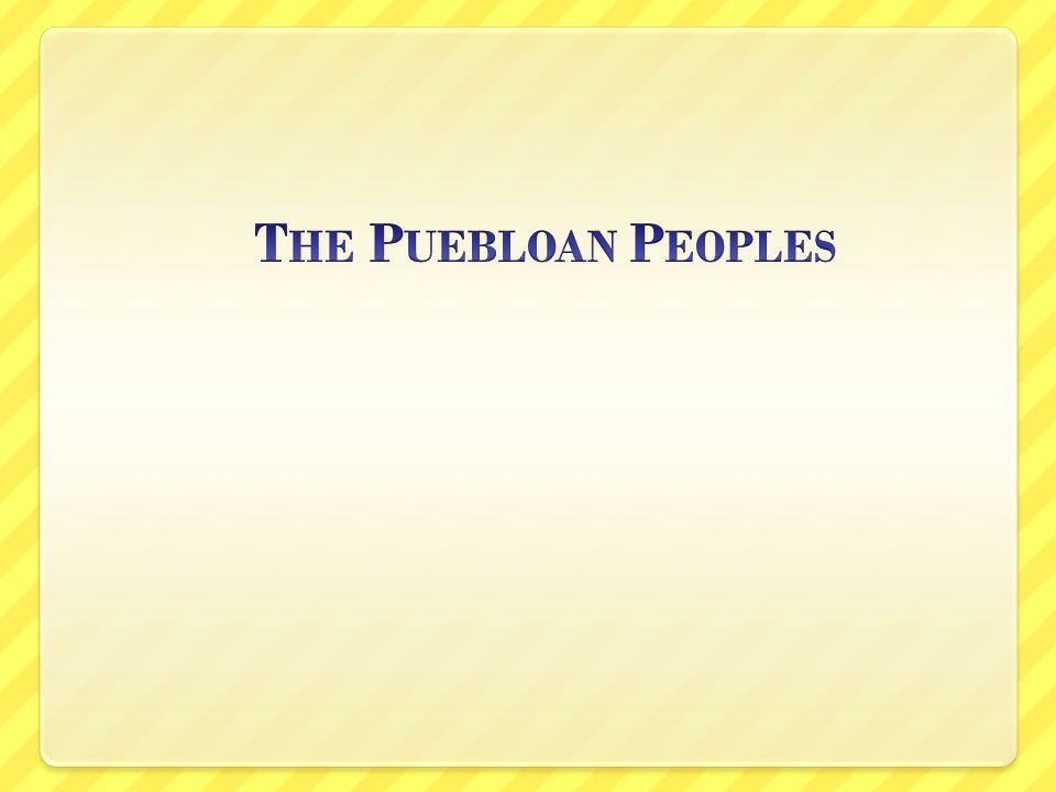 The Puebloan Peoples