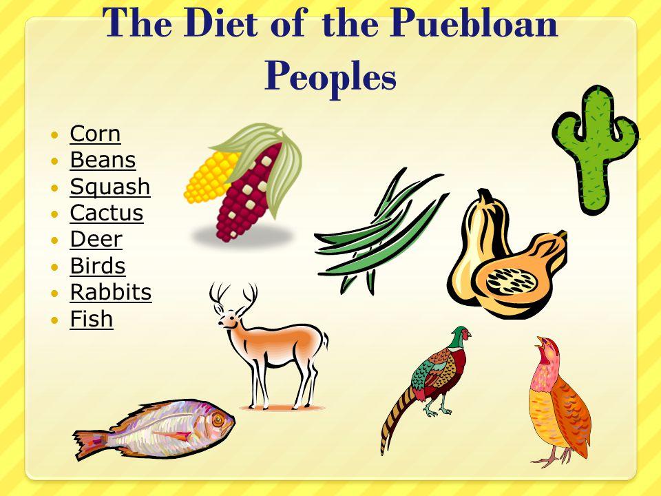 The Diet of the Puebloan Peoples