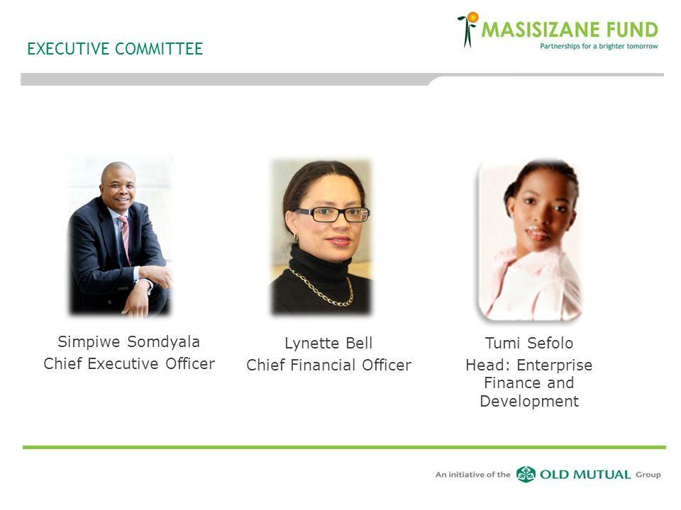 EXECUTIVE COMMITTEE Simpiwe Somdyala Chief Executive Officer