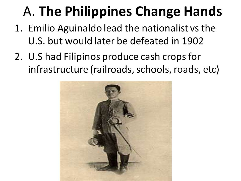 A. The Philippines Change Hands