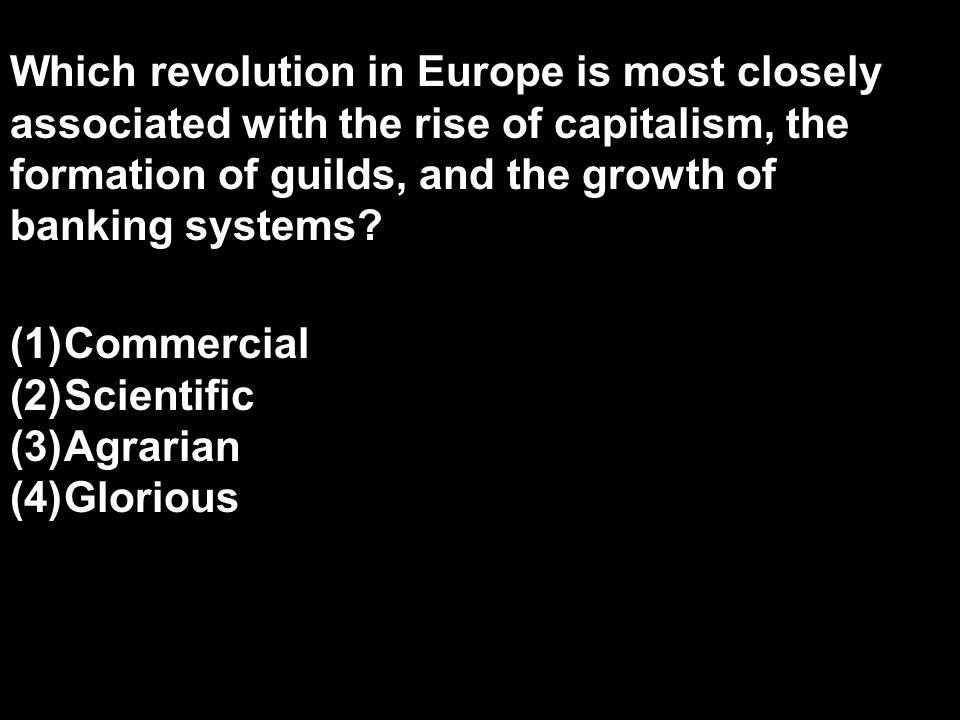 Which revolution in Europe is most closely