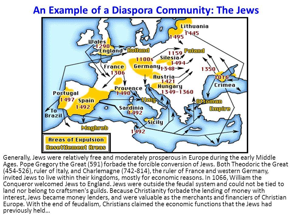 An Example of a Diaspora Community: The Jews