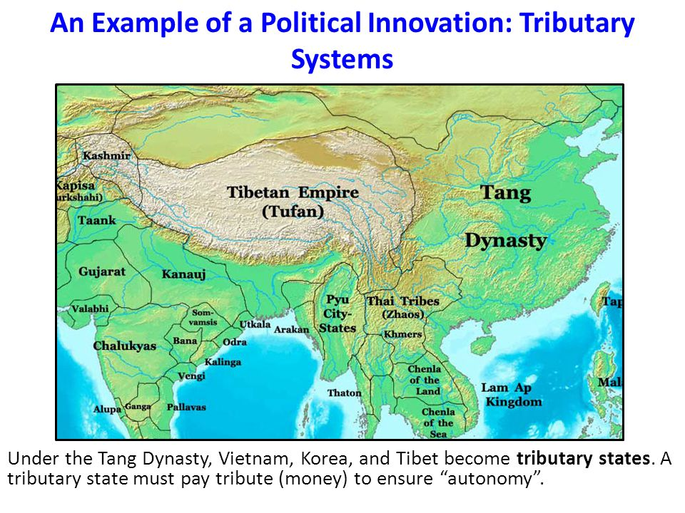 An Example of a Political Innovation: Tributary Systems