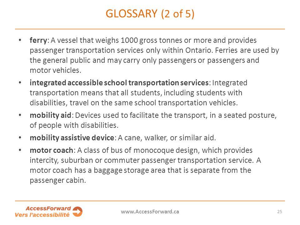 Glossary (2 of 5)