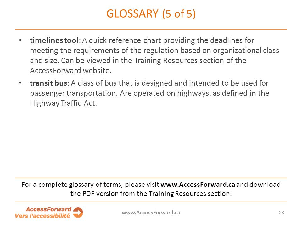 Glossary (5 of 5)