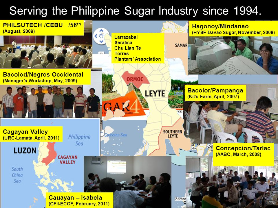 Serving the Philippine Sugar Industry since 1994.