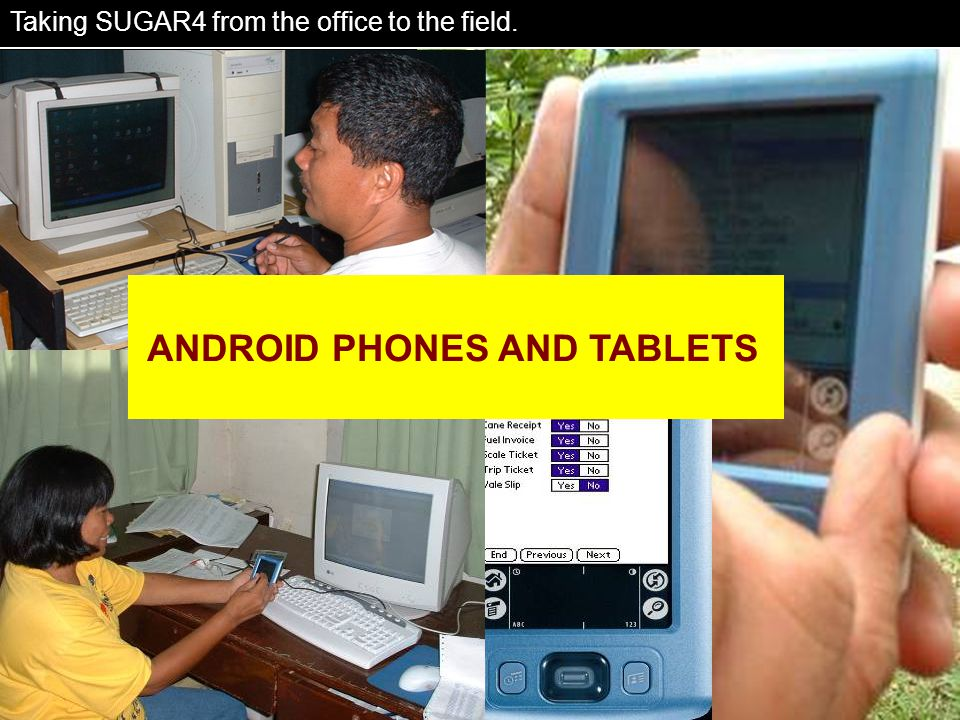 Portability ANDROID PHONES AND TABLETS