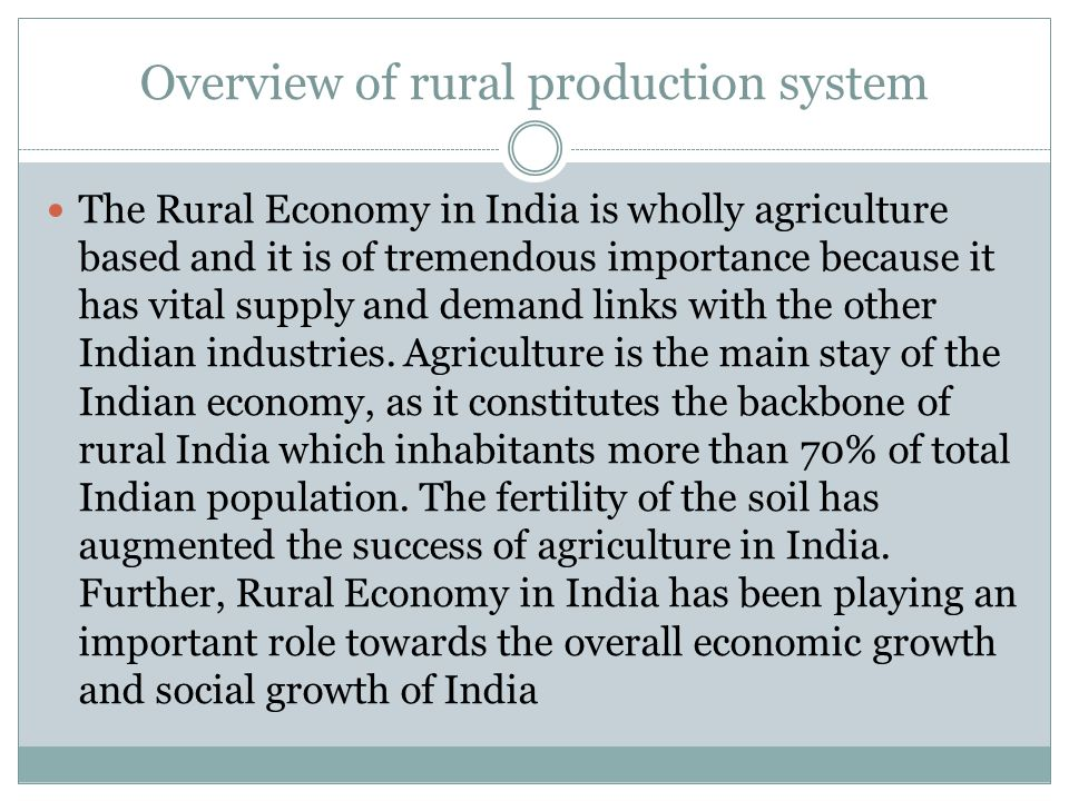agriculture the backbone of indian economy essay