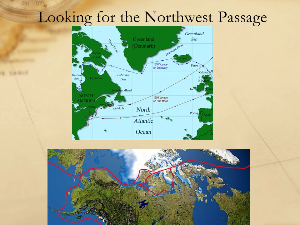 Looking for the Northwest Passage