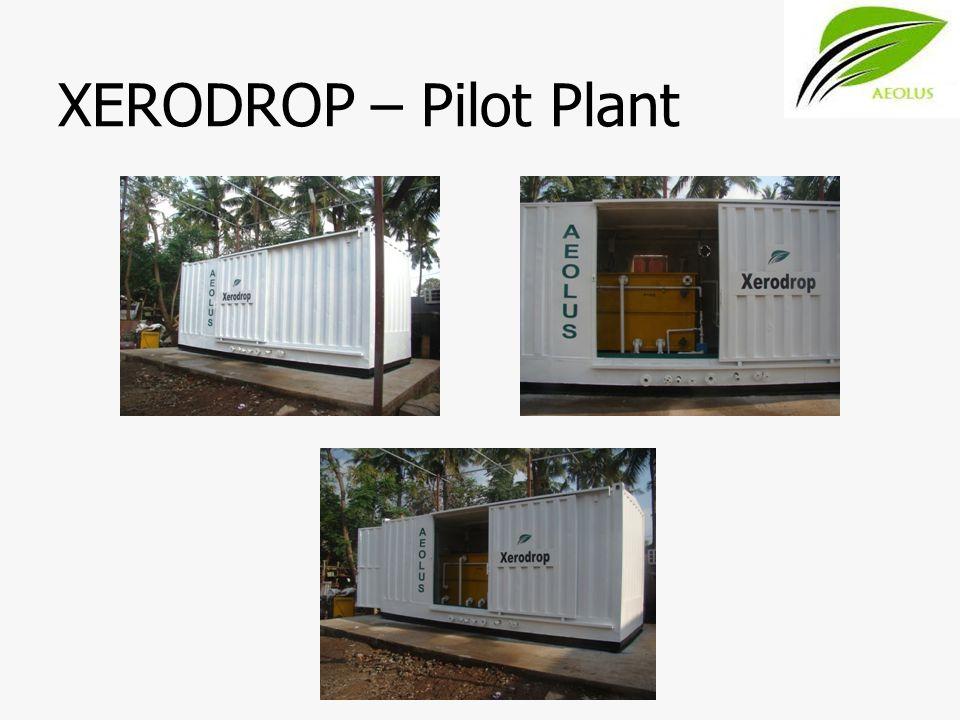XERODROP – Pilot Plant