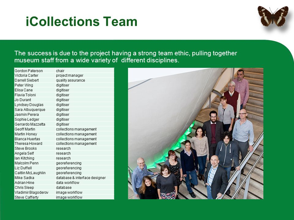 iCollections Team