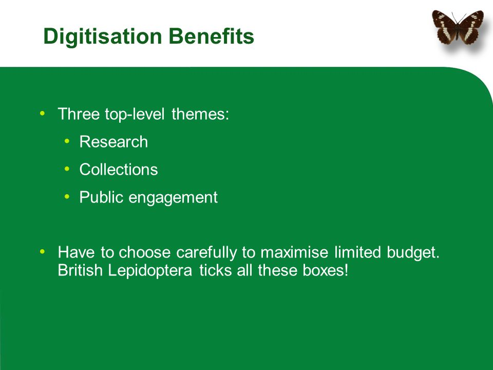 Digitisation Benefits