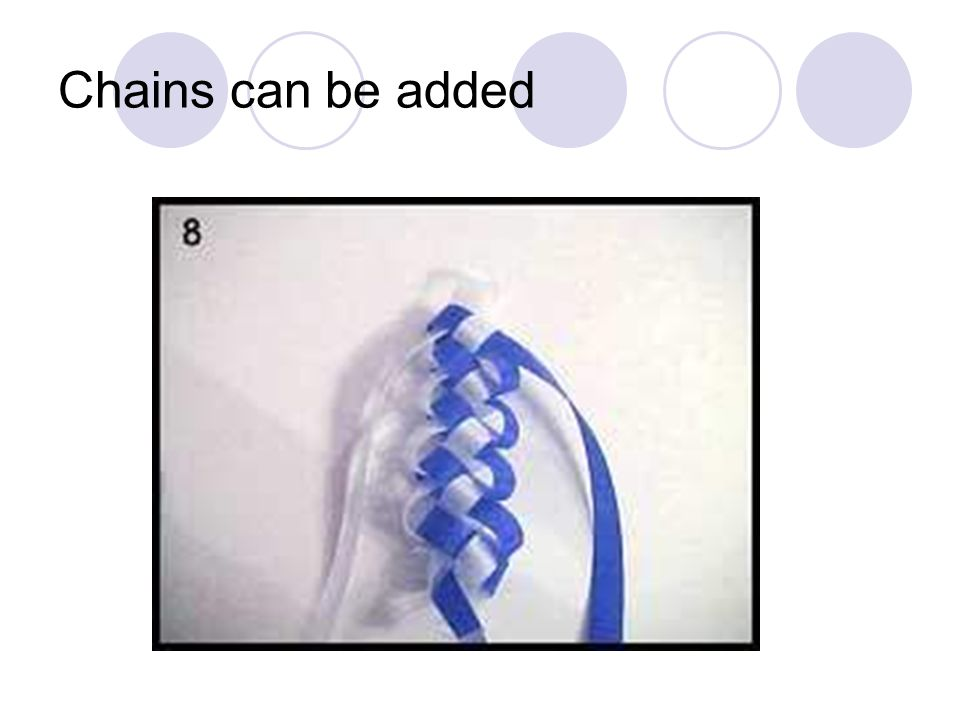 Chains can be added