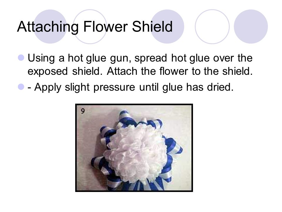 Attaching Flower Shield