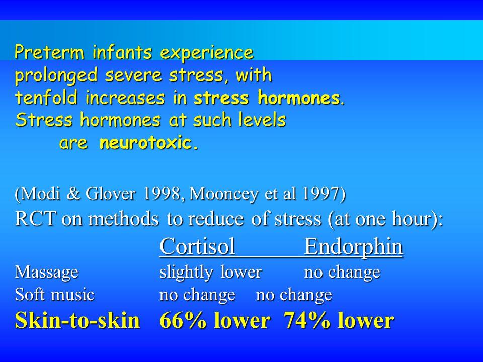 Skin-to-skin 66% lower 74% lower