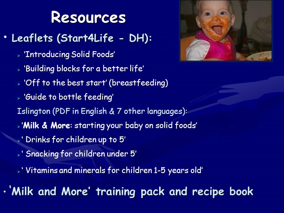 Resources Leaflets (Start4Life - DH):
