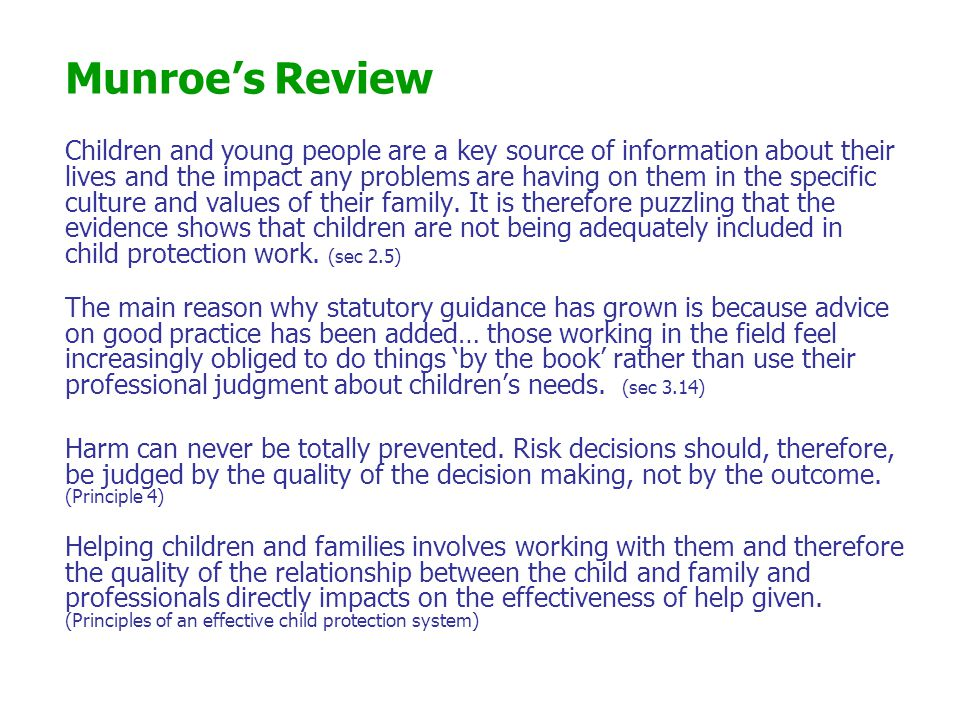 Munroe's Review