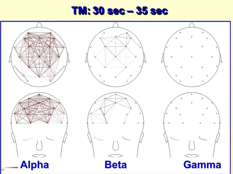 TM: 30 sec – 35 sec Alpha Beta Gamma