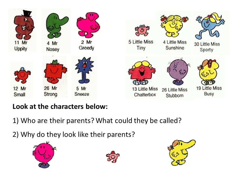 Look at the characters below: