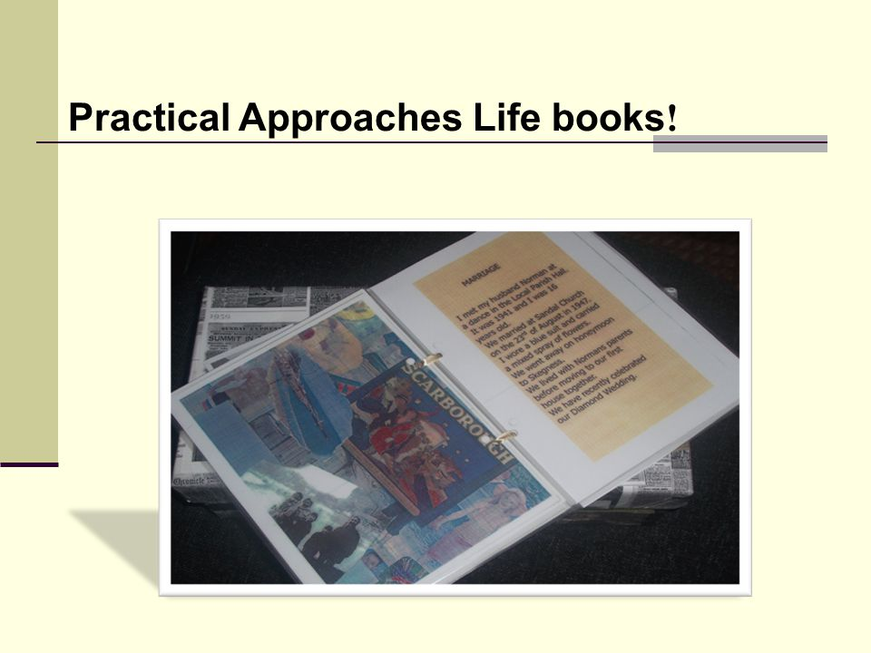 Practical Approaches Life books!