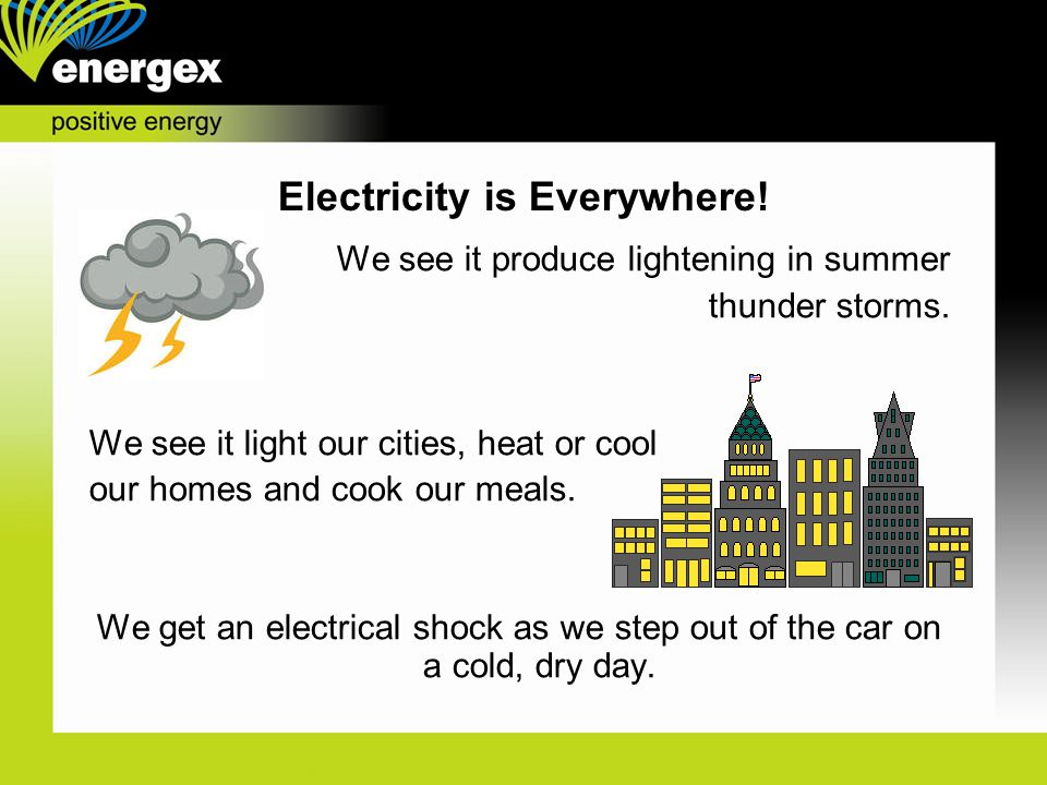 Electricity is Everywhere!