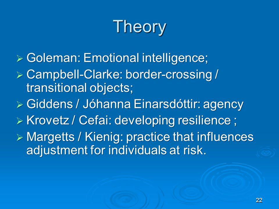 Goleman Emotional Intelligence