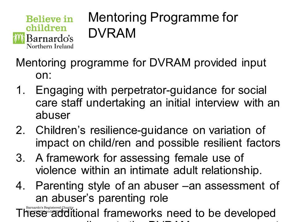 Mentoring Programme for DVRAM
