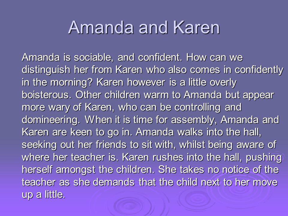 Amanda and Karen