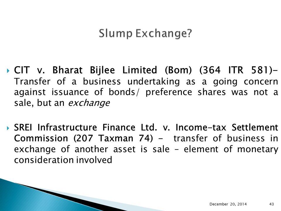Slump Exchange
