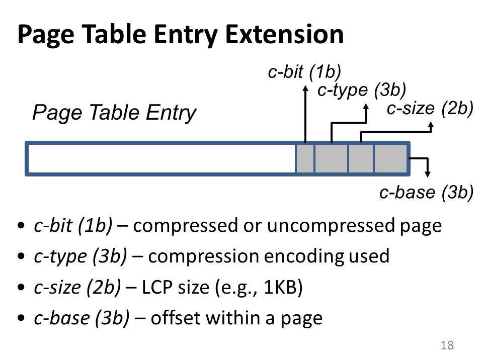 Page Table Entry Extension