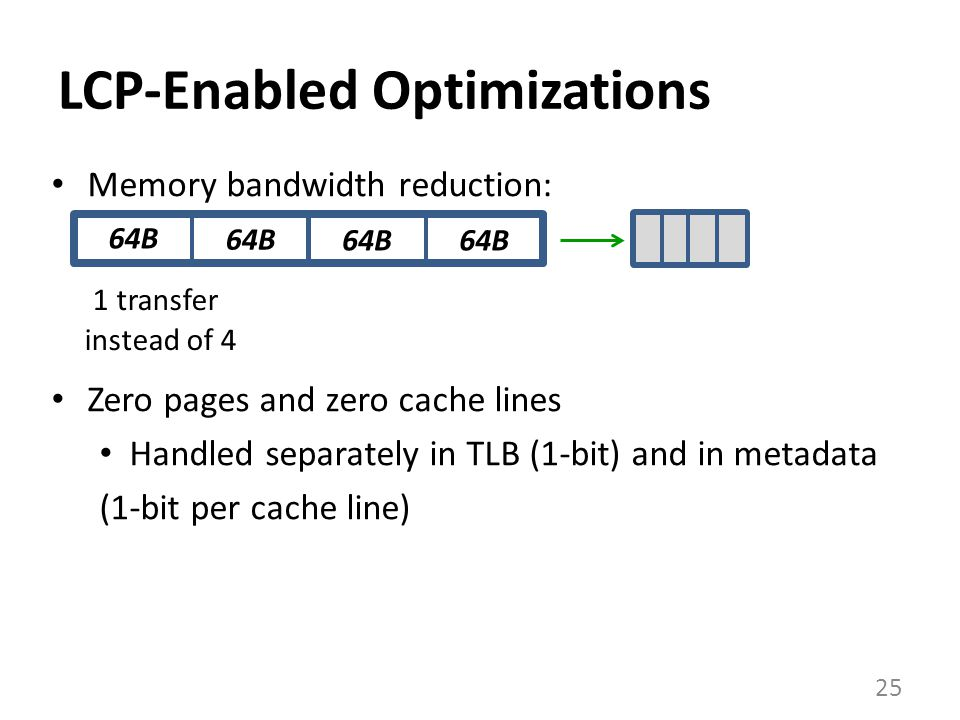 LCP-Enabled Optimizations