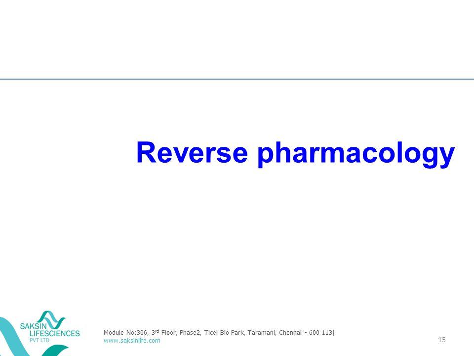 Reverse pharmacology