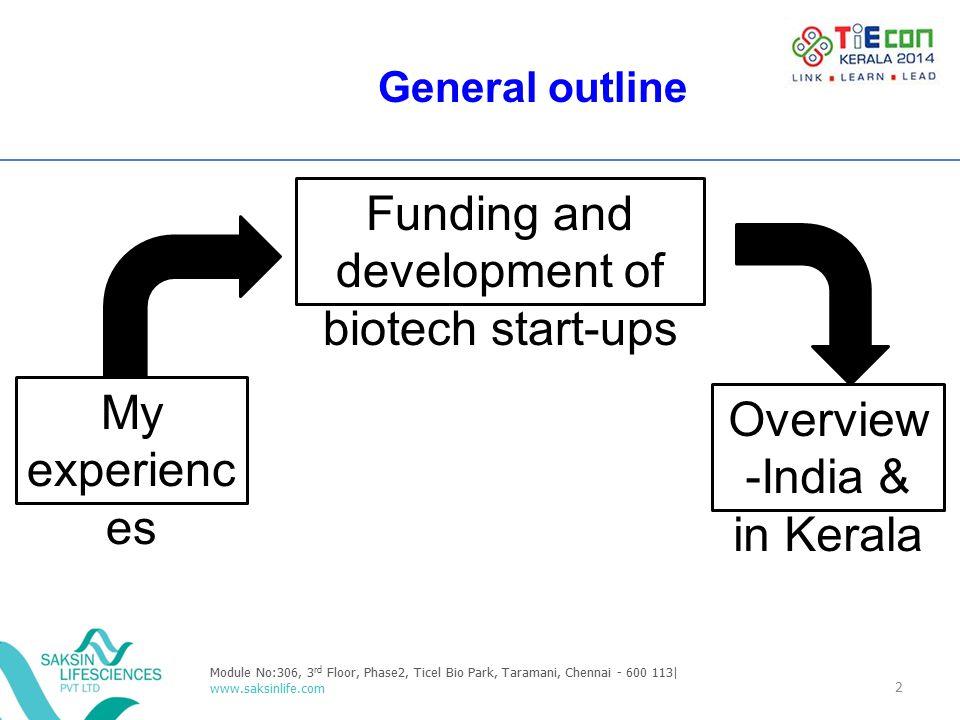 Funding and development of biotech start-ups