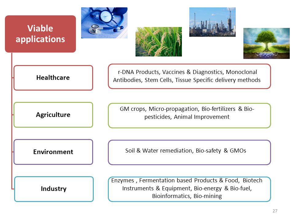 Soil & Water remediation, Bio-safety & GMOs